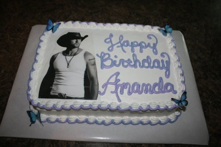 Birthday Cake Featuring Tim McGraw