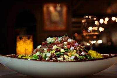 Italian chopped salad from Charlie Gitto's on the Hill