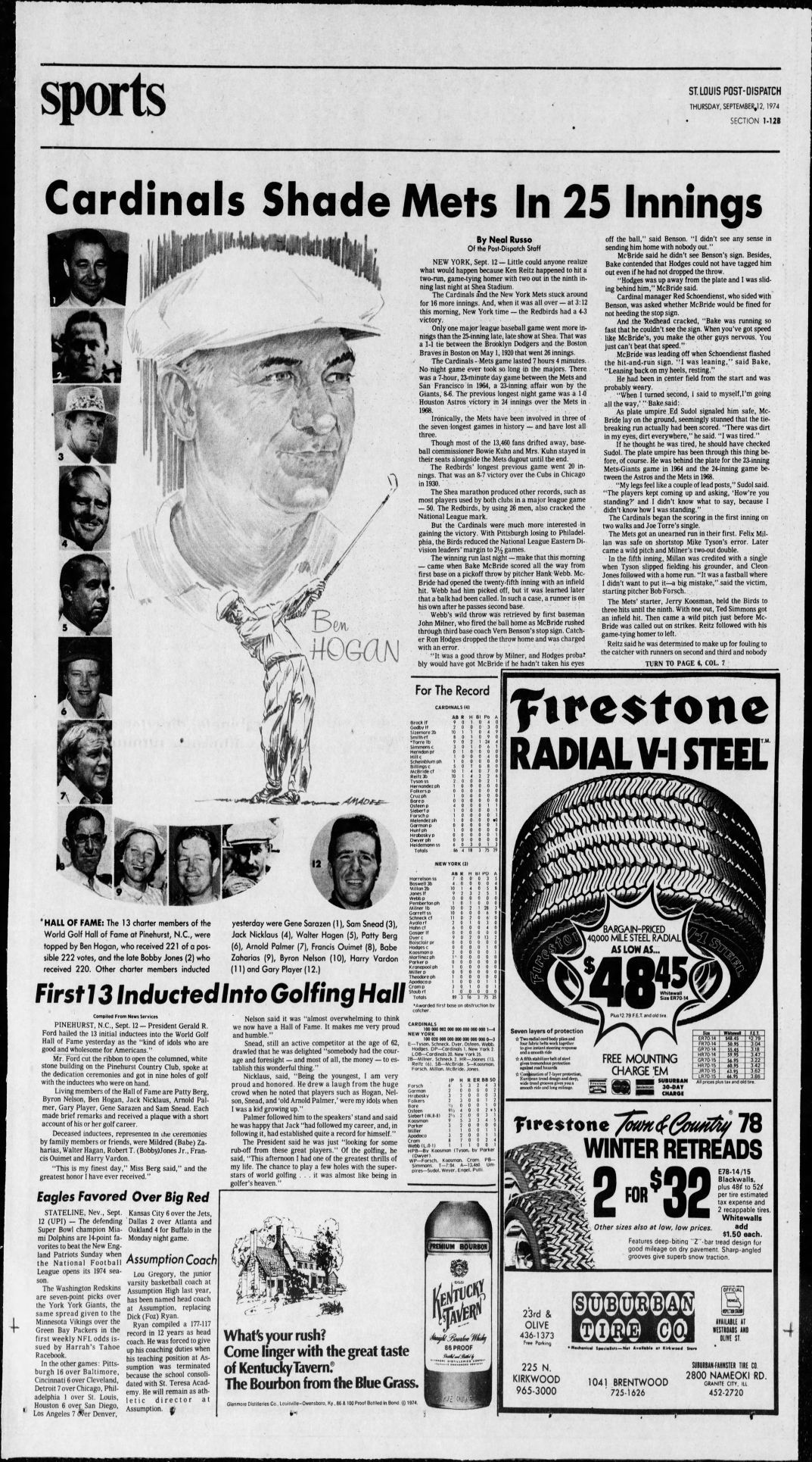 70 defining moments from the pages of the Post-Dispatch over the last 100  years   Sports   stltoday.com 9246dbc874ba