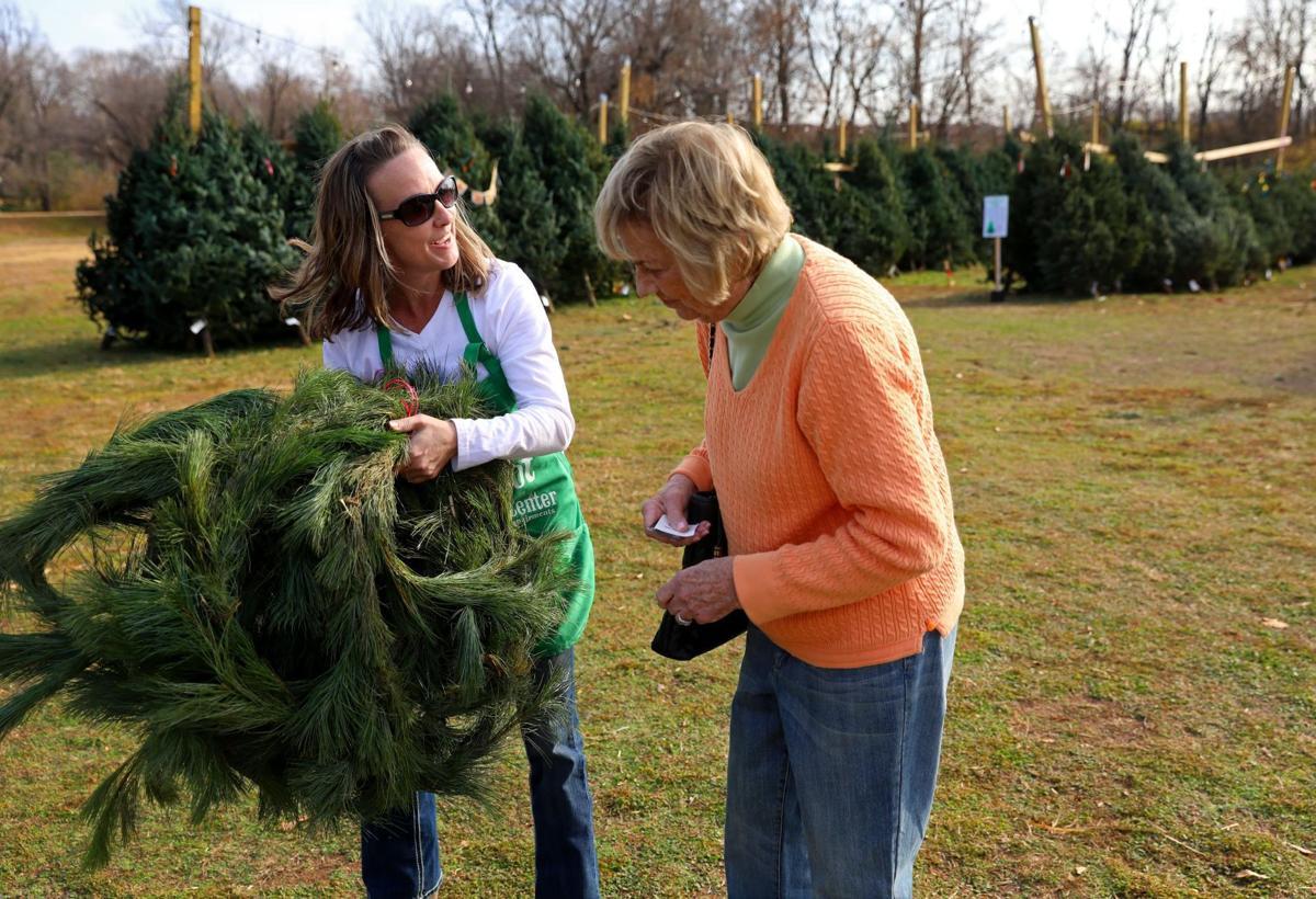 Delta Gamma Christmas Tree Lot