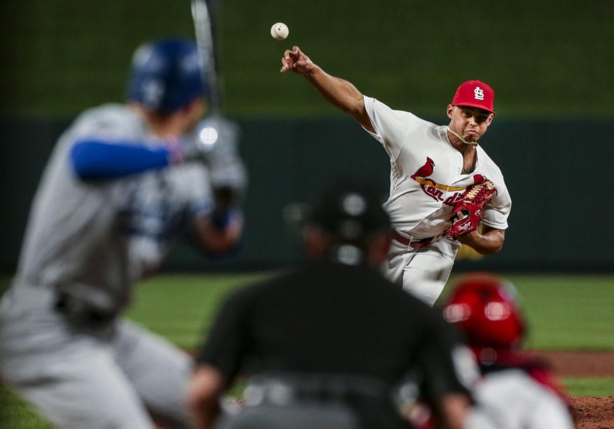 Cardinals Face the Dodgers