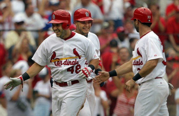 St. Louis Cards 13,  Chicago Cubs 5