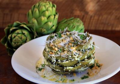 Request: Trattoria Marcella's whole stuffed artichoke