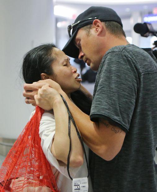 Farmington wife comes home after near deportation
