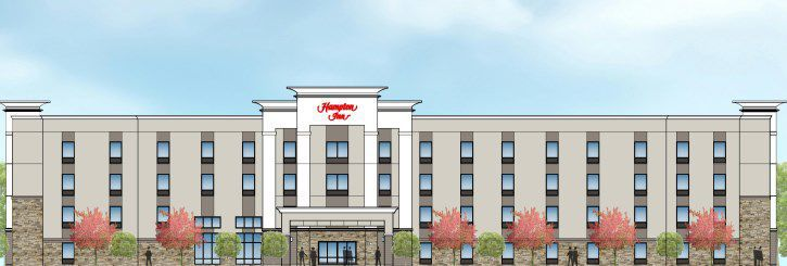 Rendering Of Hampton Inn In Sikeston Mo