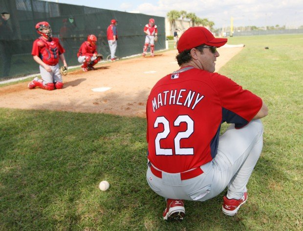 Cards hire Matheny as manager | St. Louis Cardinals ...