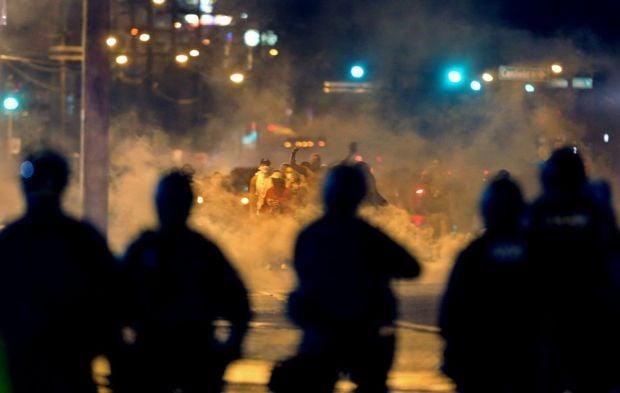Protests in Ferguson