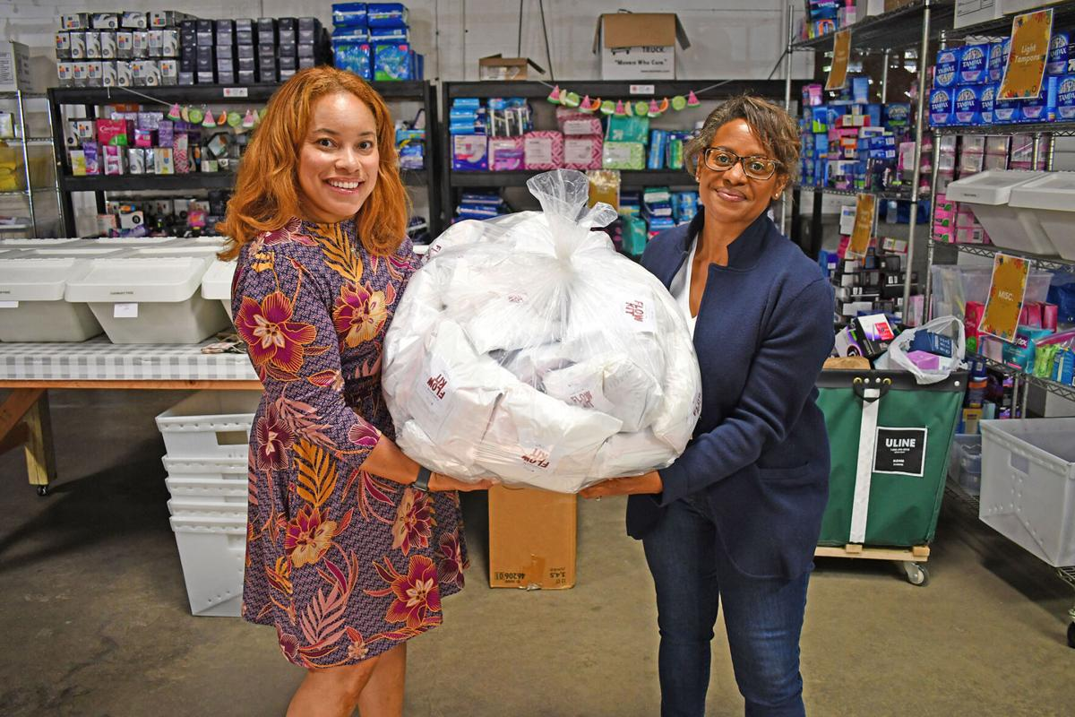 St. Louis Area Diaper Bank and Rung for Women