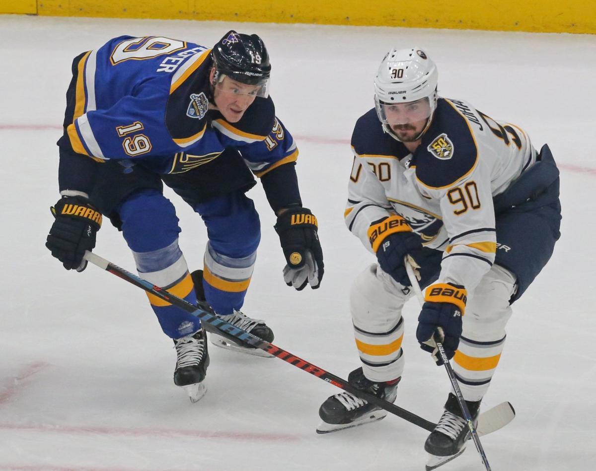 The Blues and the Sabres skate at Enterprise
