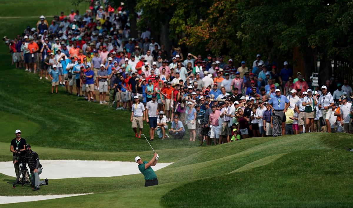 Final round of the 100th PGA Championship at Bellerive Country Club