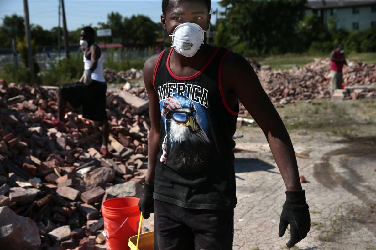 Clean Sweep demolishes vacant homes, brings hope
