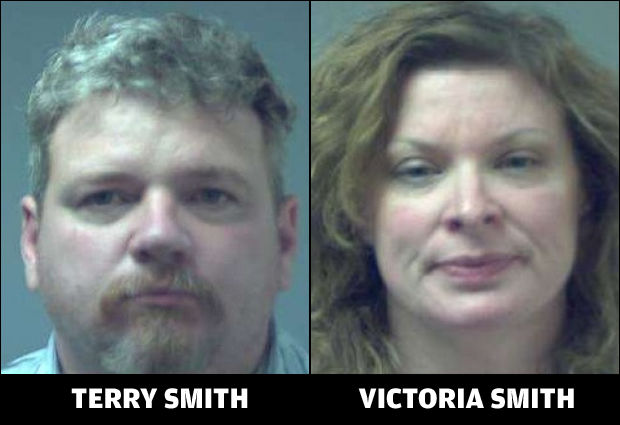 Terry and Victoria Smith