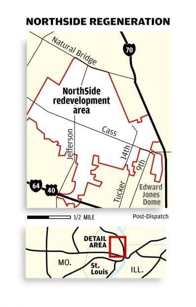Paul McKee's NorthSide regeneration project map