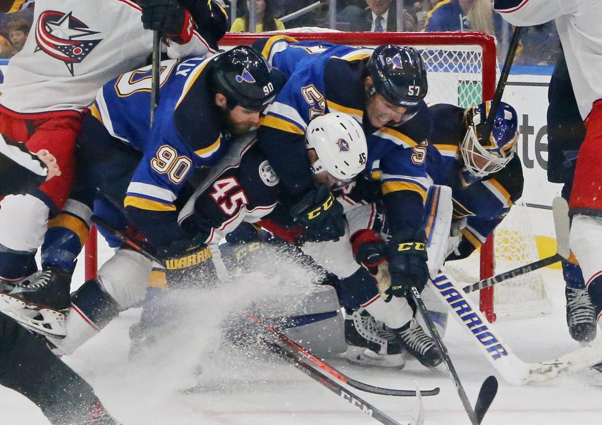 cb471003e1c Blues ruin another early lead, fall to Blue Jackets | St. Louis ...