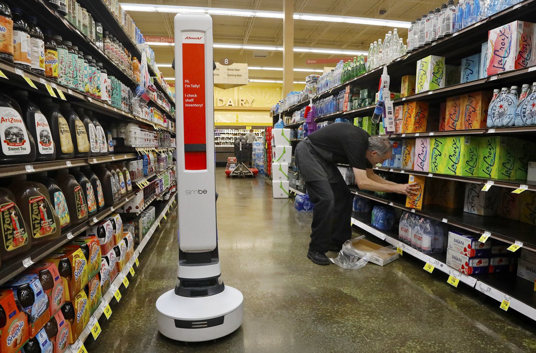 stltoday.com - Leah Thorsen - More robots coming to the aisles of Schnucks stores