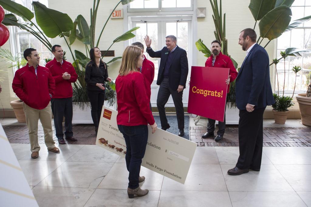 Photos: Local nonprofits surprised with $25k checks