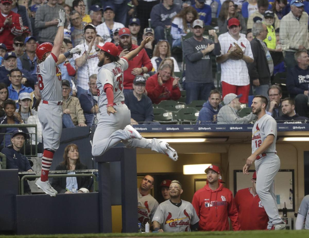 Cardinals, Brewers open baseball season