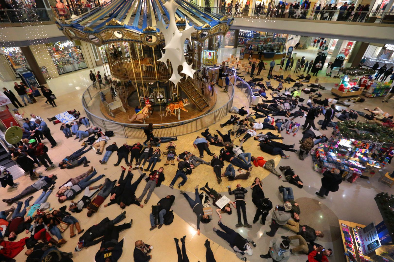 Protesters force Black Friday store closures at