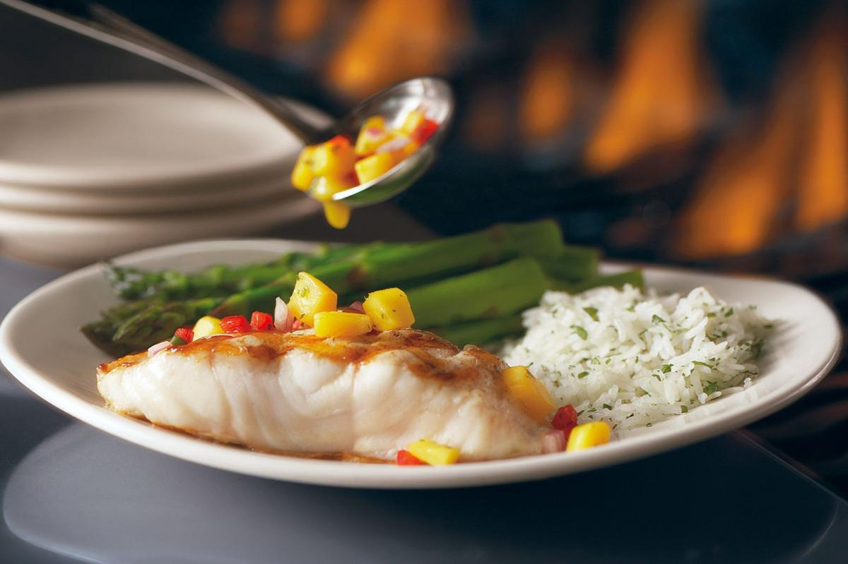 Bonefish grilled fish with mango salsa recipes stltoday grilled fish with mango salsa remains a popular menu item at bonefish grill it can be made with a wide variety of fish fillets including salmon mahi ccuart Image collections