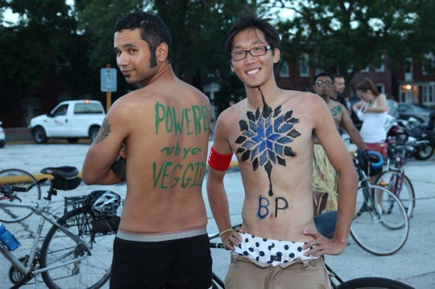 iParty@Naked Bike Ride 2010