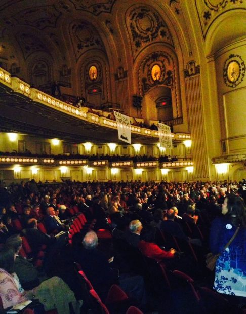 Michael Brown protesters interupt Powell Hall performance
