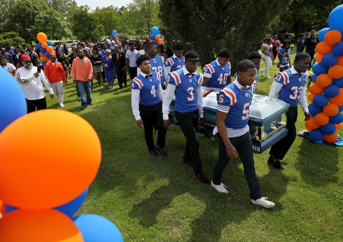 More than 1,000 people gather for funeral of Metro East football 'phenom'