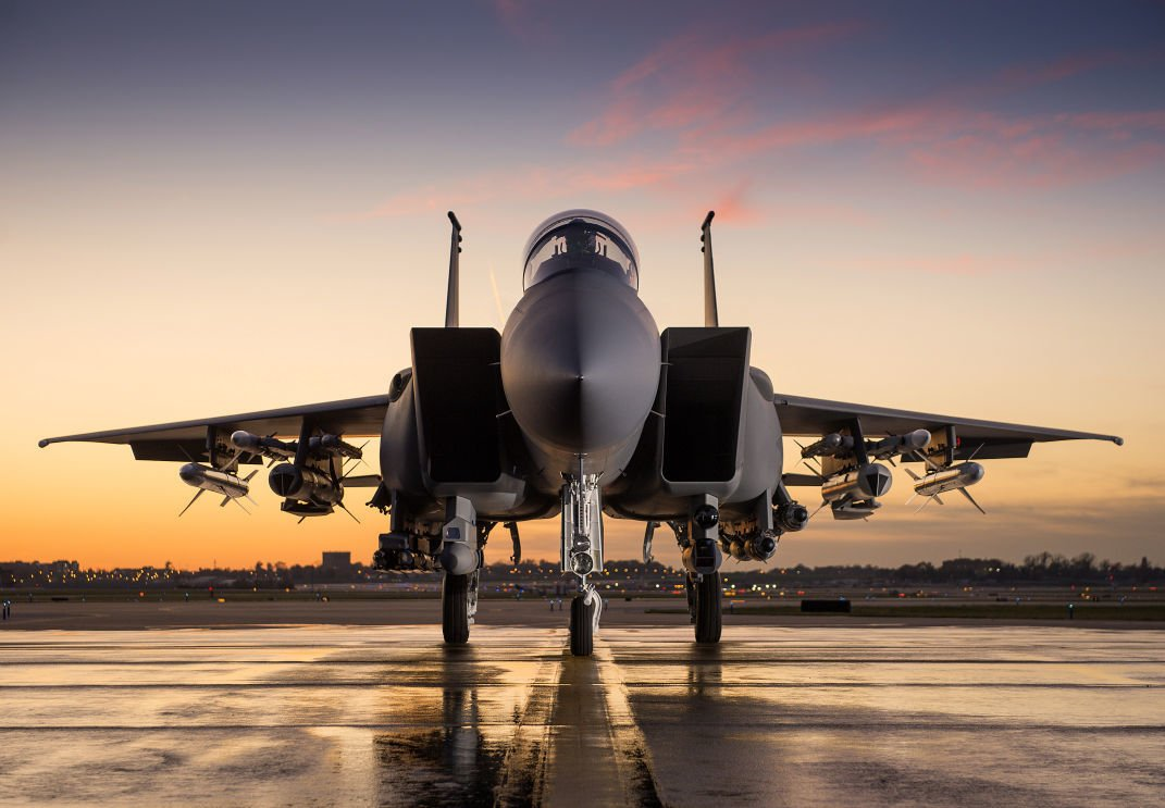 Boeing-made F-15 fighter