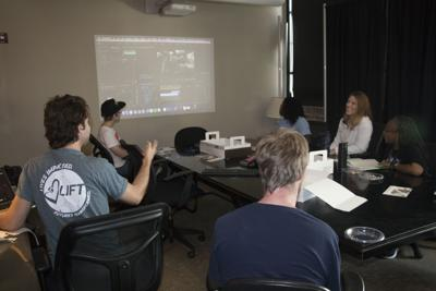 Independence Center Members Learn Video Editing Skills from Technology Partners