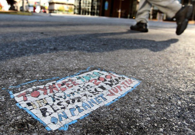 Toynbee Tiles Going Extinct In St Louis