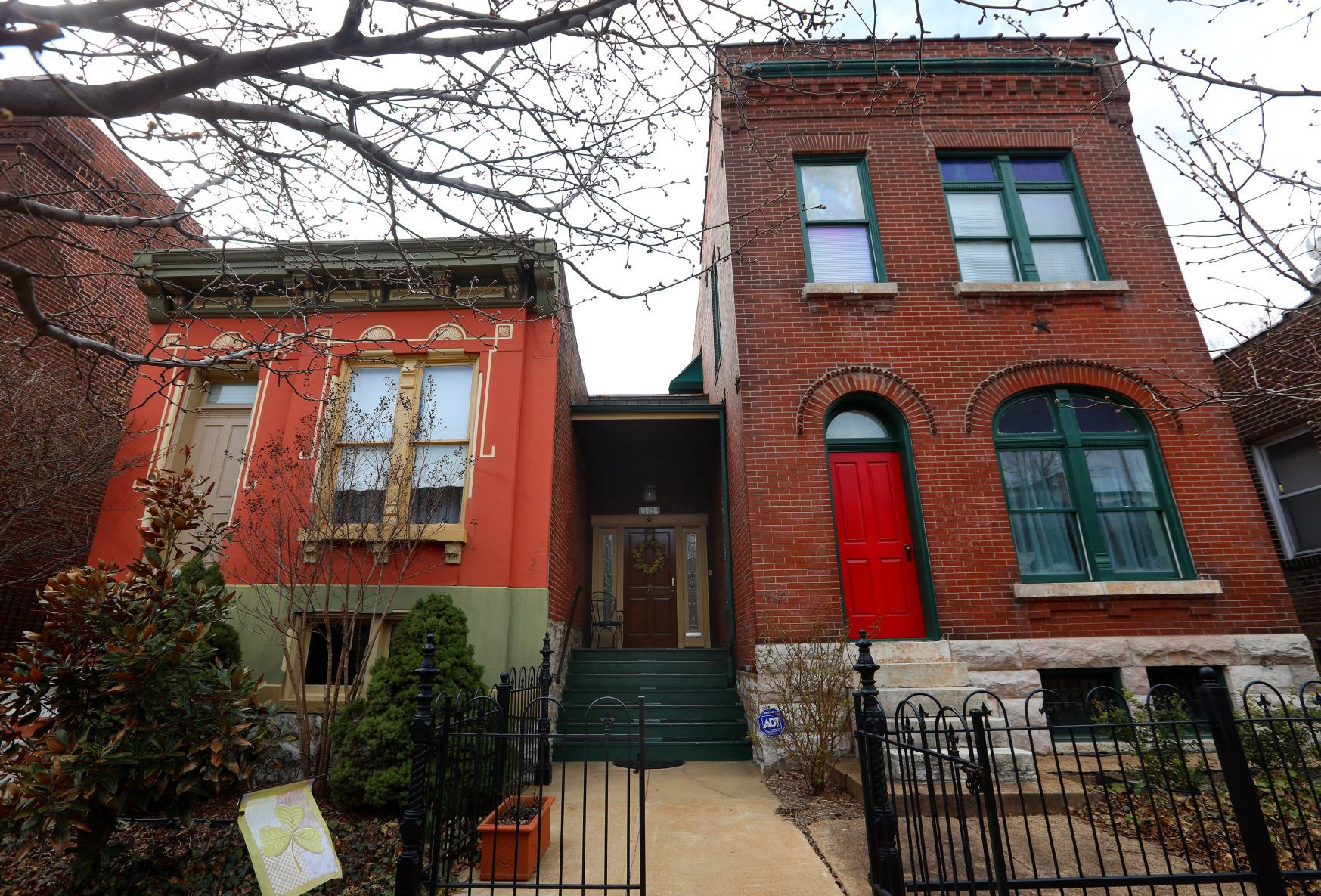 Two delinquent properties are combined and restored