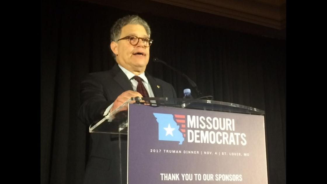 Al Franken serves up politics and laughs at the Democrats' Truman dinner