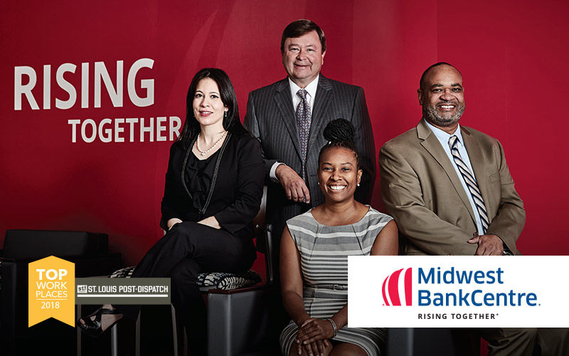 Midwest BankCentre team believes in Rising Together