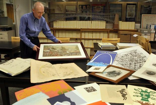 5th Annual fine print fair to benefit Mercantile Library