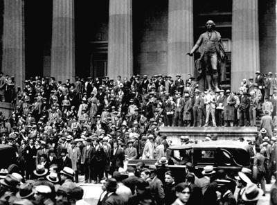 1929: STOCK MARKET CRASH