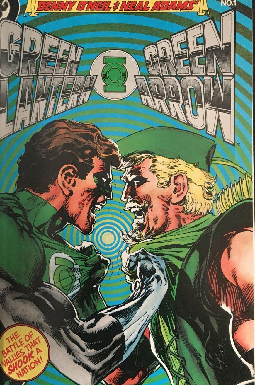 Green Lantern/Green Arrow issues from estate of Denny O'Neil