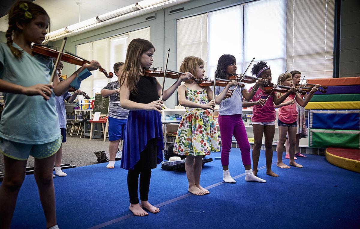 Soulard School: Summer music program