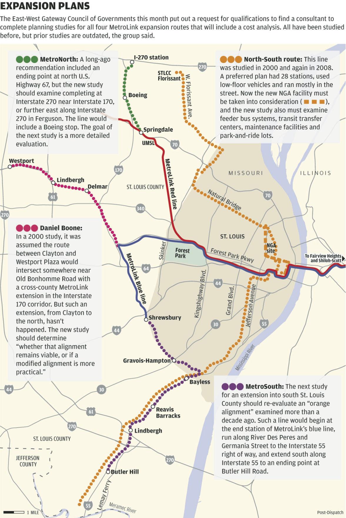 Northside-Southside MetroLink update