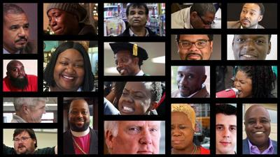 Faces of Ferguson collage