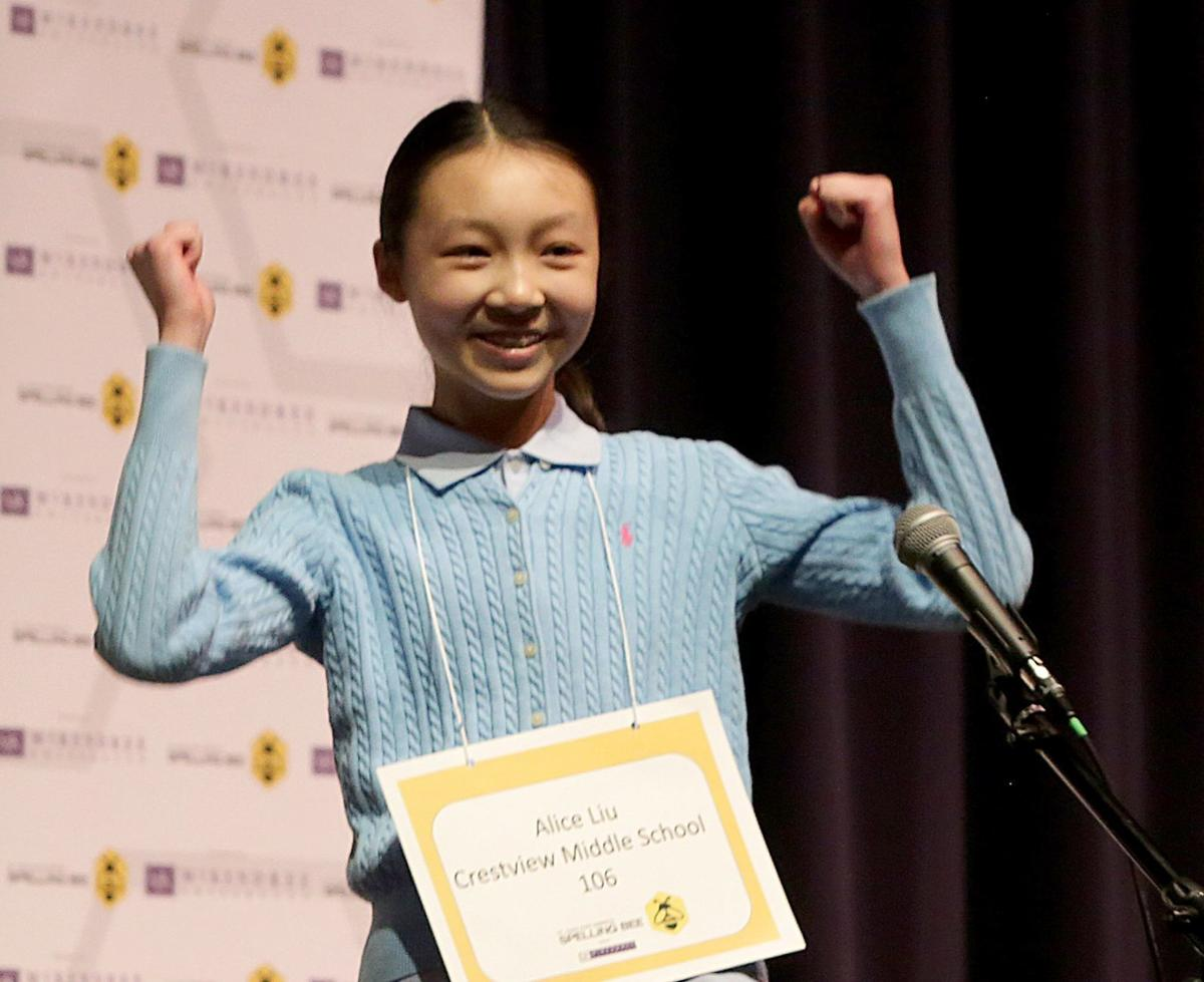 Chesterfield 7th-grader becomes three-time St. Louis spelling bee champion