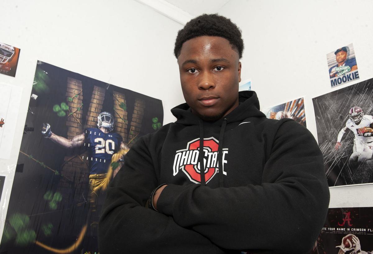Mookie Cooper, high school football player