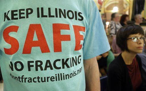 Residents' lawsuit targets Illinois fracking rules