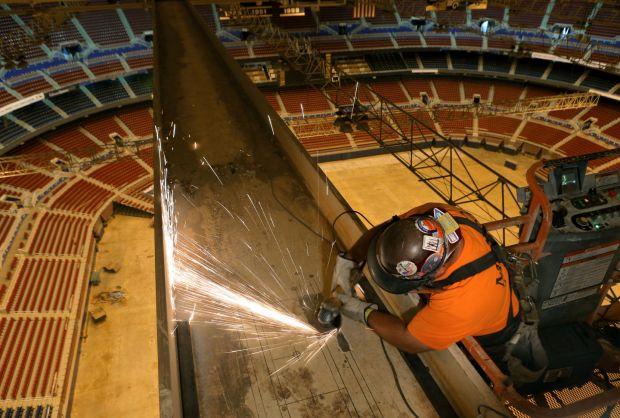 Edward Jones Dome improvements