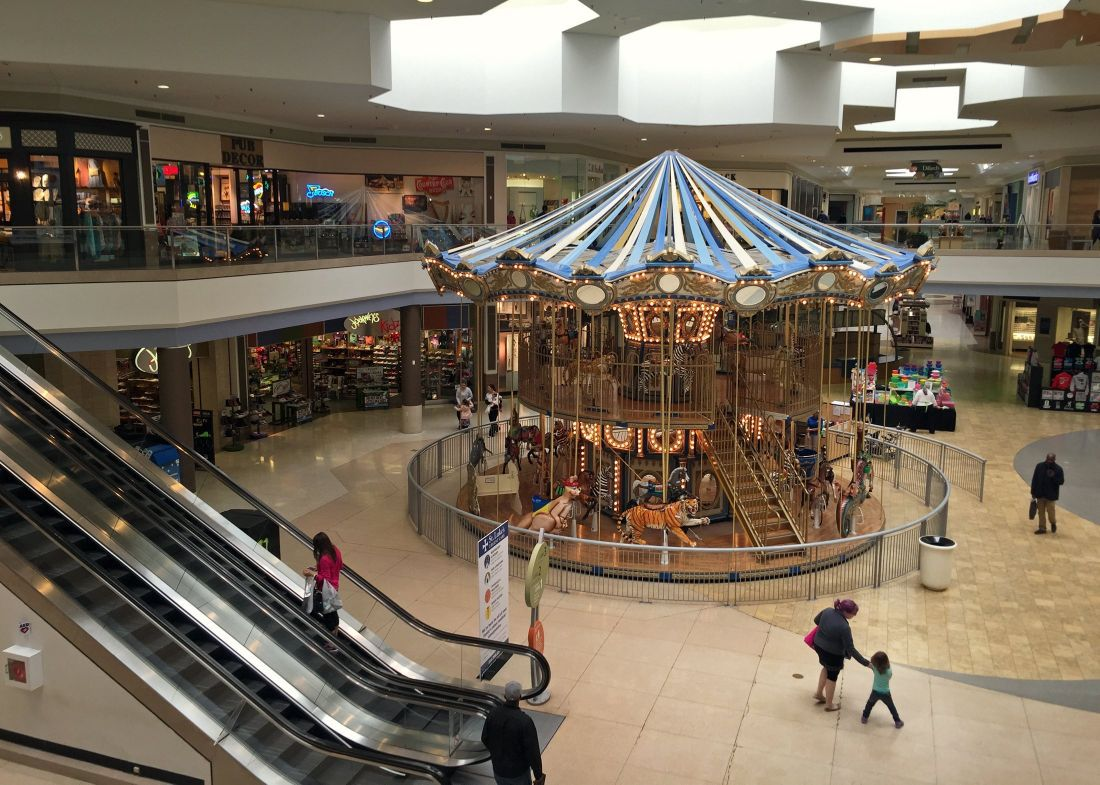 The venerable Chesterfield Mall is St. Louis's most classic mall in the area. Shoppers can browse Dillard's, Macy's, Pottery Barn, Sephora and Williams-Sonoma stores, but the American Girl.
