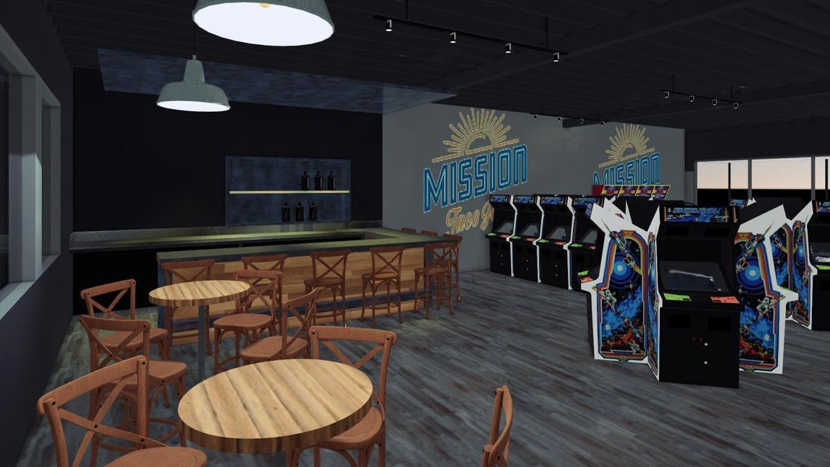 A rendering of Mission Taco's new Kirkwood restaurant.