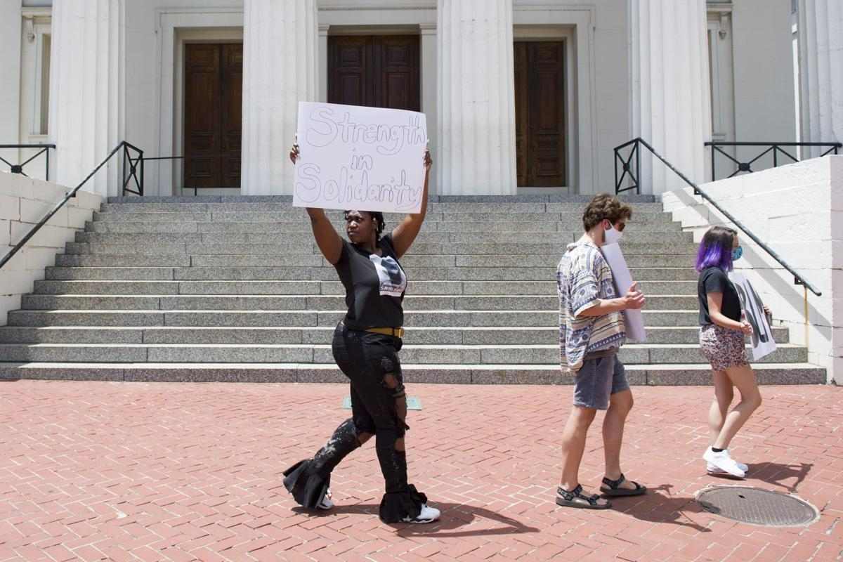 'For Our Children' protest outside Old Courthouse
