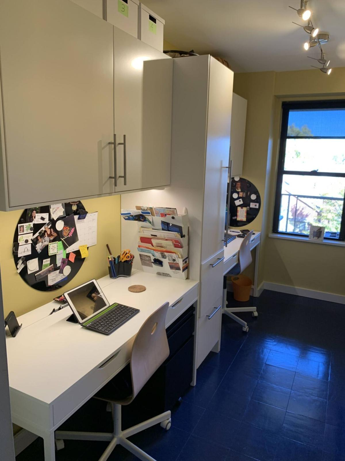 At home with Pinsker-Humphries  - office
