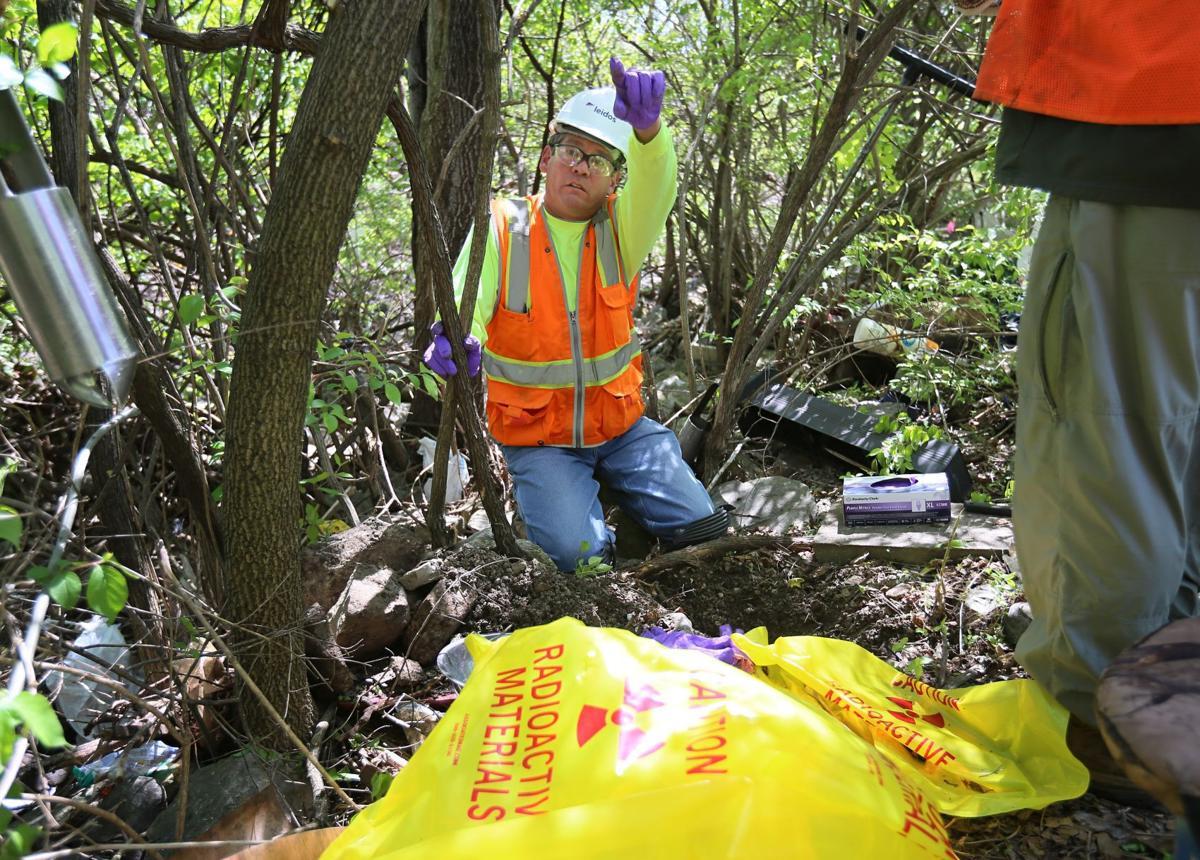 Coldwater Creek radiation testing
