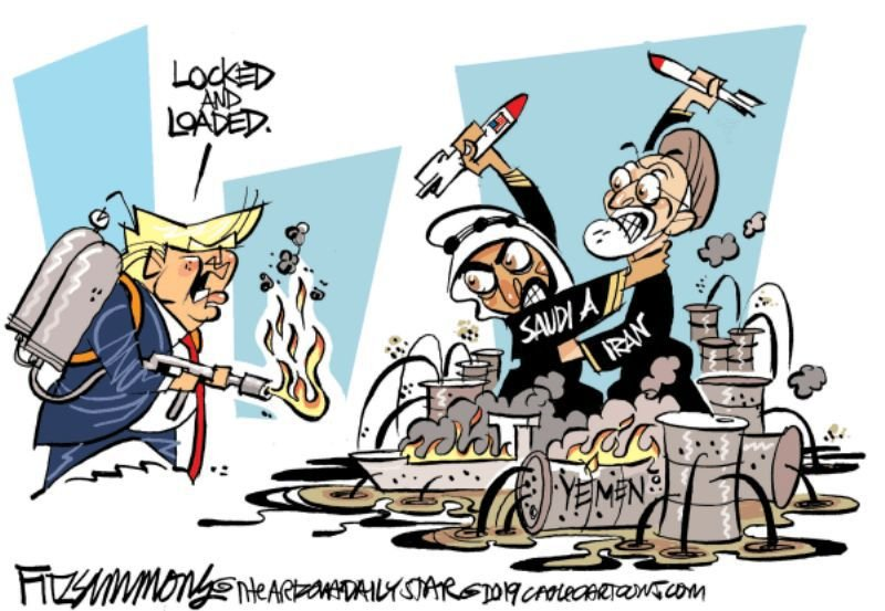 In the cartoons: Locked and loaded; Electoral College; Kavanaugh