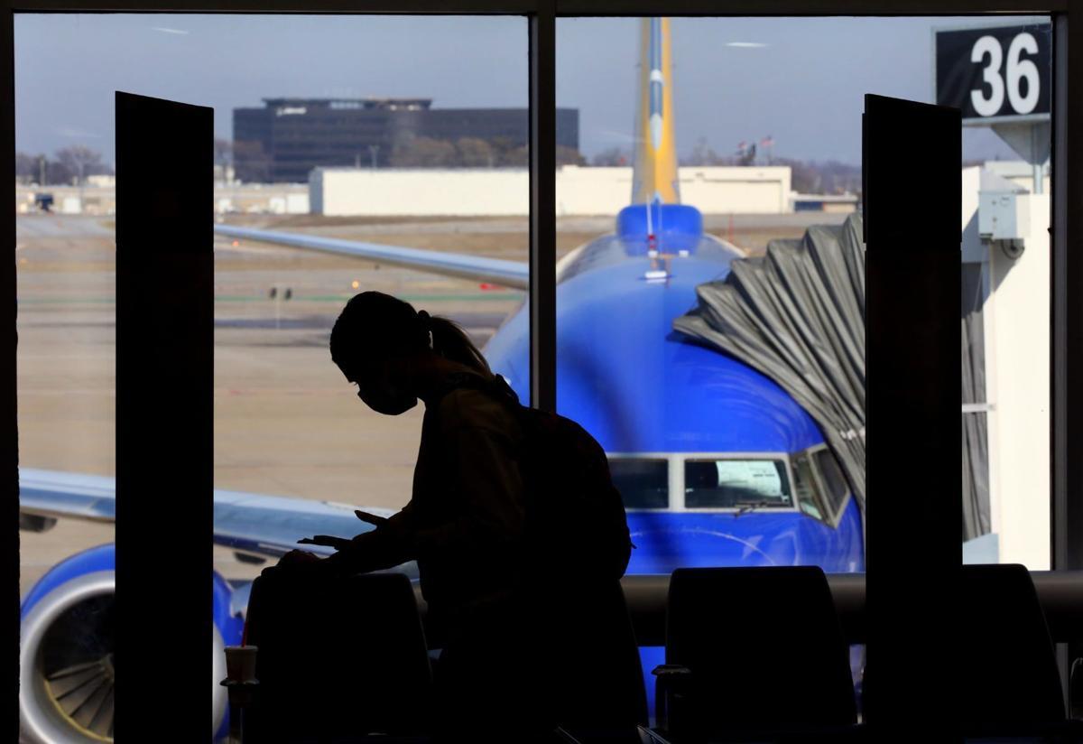 Lambert report says airport was on pre-pandemic upswing