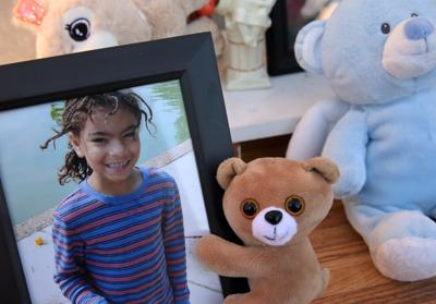 Vigil for 7-year-old Xavier Usanga killed by stray bullet in St. Louis